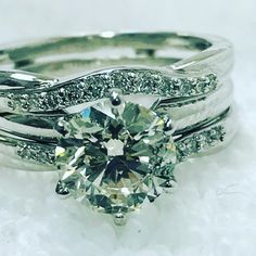 Diamonds are Girl's Best Friend. Every woman would love to receive her diamond nor add on to her collection. Solitaire with enhancer. Galleria Mall, Bestfriends, Every Woman, Diamonds, White Gold, Wedding Rings, Engagement Rings, Jewels, Gifts