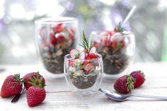 Qooking.ch   Salade de lentilles & tofu Tofu, Saveur, Strawberry, Fruit, Lentil Salad, Fennel, Food, Recipe, The Fruit