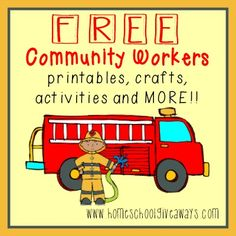 FREE Community Workers printables activities MORE Level 6-8. #MovingBeyondthePage