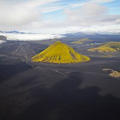 COS | Things | ANDRE ERMOLAEV aerial scenes of rivers twisting through Iceland's volcanic landscape