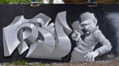 Delft graffiti : PSY (2HT) | Flickr: Intercambio de fotos