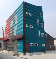 The 243 Building by Hyun and Jeon Architectural Office © Kim Dong-Kwan