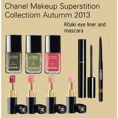Maquillaje Chanel otoño 2013: ¡Superstition atrae la buena suerte!
