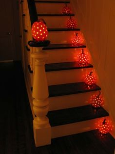Pumpkin Inspiration, this would be fun for Halloween Night