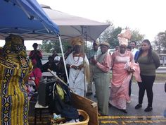 Ebo Landing tour with delegation of Nigerian women
