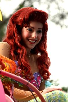 Ariel from The Little Mermaid Ariel Disney World, Disney Day, Disney Magic, Disney Parks, Disneyland Tips, Disneyland Resort, Disneyland Face Characters, Disney Characters, Cinderella 3