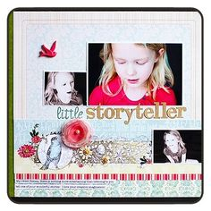 Scrapbook Layouts | Found on websterspages.com