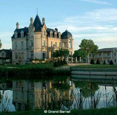 Chateau de Grand Barrail - St Emilion, Gironde  Find Super Cheap International Flights to France ✈✈✈ https://thedecisionmoment.com/cheap-flights-to-europe-france/