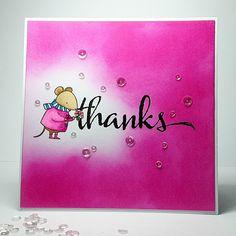 Janey's Cards: Share Handmade Kindness MFT Harvest Mouse