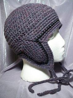 Ravelry: Pacific North West Special Ski Hat pattern by Julee Fort Crochet Adult Hat, Crochet Hat For Women, Crochet For Boys, Free Crochet, Crochet Hats, Knitting Hats, Crochet Quilt, Crochet Scarves, Fingerless Gloves Crochet Pattern