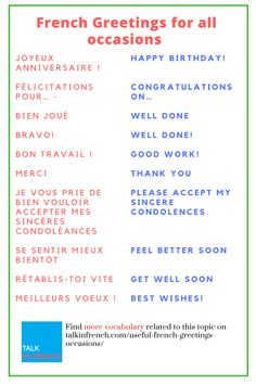 French greetings how to say hello please and thank you in useful french greetings for all occasions m4hsunfo