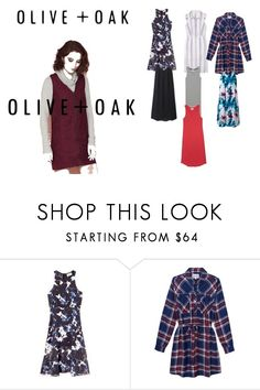 """""""OLIVE + OAK #3"""" by bexijem ❤ liked on Polyvore featuring Olive + Oak"""