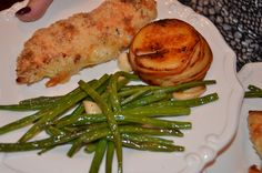 Chicken Cordon Bleu, Pommes Anna, Haricot Verts - Cooks Illustrated