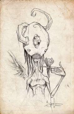 sketchbook series1 by ShawnCoss on DeviantArt