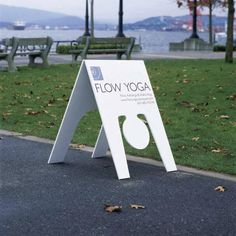 Awesome Yoga Studio Signage