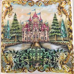 Bildresultat For Enchanted Forest Colouring Book Completed