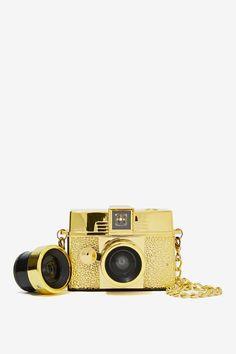 Lomography Diana Baby 110 Gold Camera