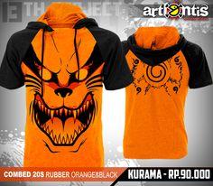 Kurama Short sleeved hoodie 90.000 rp (Around $10.00) I want this