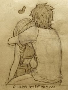 have some hiccstrid everyone! (Modern Hiccstrid - modern Hiccup and Astrid) Art Drawings Sketches Simple, Cute Couple Drawings, Girl Drawing Sketches, Anime Couples Drawings, Cute Couple Art, Girly Drawings, Pencil Art Drawings, Love Drawings, Easy Drawings