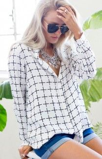 Cruizer Shirt White Cross | Beginning Boutique