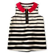 Joe Fresh™ Striped Sleeveless Top - Girls 1t-5t