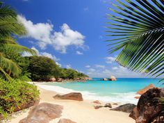 This HD wallpaper is about Praslin Island, Seychelles, Islands, Original wallpaper dimensions is file size is Seychelles Africa, Praslin Seychelles, Seychelles Islands, Secluded Beach, Island Nations, Dark Skies, Beach Photos, World Heritage Sites, Vacation Spots