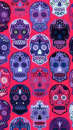 * Background Smartphone Today: Air Jordan Wallpaper For Iphone 6 Skull Wallpaper Iphone, Pop Art Wallpaper, Colorful Wallpaper, Cellphone Wallpaper, Wallpaper Backgrounds, Wallpapers Android, Caveira Mexicana Tattoo, Day Of The Dead Art, Happy Fourth Of July