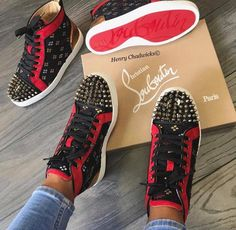bd2c1352981 84 Best Christian Louboutin Sneakers images in 2019   Shoes ...