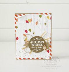 Among The Branches stamp set and Woodland TIEF ~ Sarah Sagert
