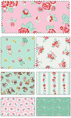 Milk Sugar Flower by Elea Lutz for Penny Rose Fabrics