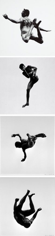 Pleasures and Terrors of Levitation, Aaron Siskind, 1961.