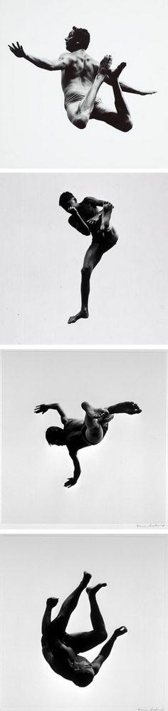 Pleasures and Terrors of Levitation, Aaron Siskind, 1961.