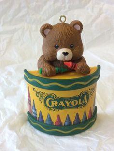 Hallmark-Christmas-Crayola-Bear-Ornament-1992