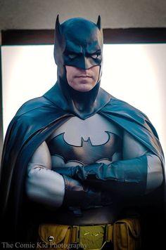 Character: Batman (Bruce Wayne) / From: DC Comics 'Batman' & 'Detective Comics' / Cosplayer: Miles Blackman Jr. / Photo: The Comic Kid Photography (Aaron Anglin) (2015)