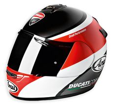DUCATI ARAI helmet - repined by http://www.motorcyclehouse.com/ #MotorcycleHouse