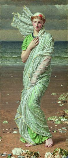 Paseo por la belleza 12/10/14 Albert Joseph Moore. Conchas (1868)