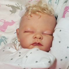 80 Packs Cute Miniature Sleeping Baby Dolls Bald Head Sculpt Parts Doll
