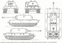 E-100 StandartPanzer: The E-100 was originally designed as an Heereswaffenamt alternative to the Porsche-designed superheavy Maus tank. It was authorized in June 1943, and work continued in earnest until 1944 when Hitler officially ended development of superheavy tanks due to raw material scarcity. After Hitler's announcement, only three Adler employees were allowed to continue assembly of the prototype, and the work was given the lowest priority. Even with these handicaps, the three…