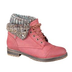 Refresh by Beston Women's 'Wynne-01' Lace-up Combat Boots | Overstock.com........So cute
