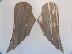 Reclaimed Wooden Angel Wings by DancingOaksWoodworks on Etsy https://www.etsy.com/listing/220556135/reclaimed-wooden-angel-wings