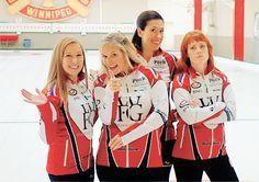 Team Jennifer Jones: world class curlers, Women's Hockey, Jennifer Jones, World Class, Roller Derby, Curlers, Canada, Snow, My Favorite Things, People