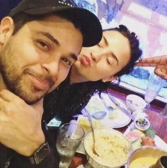Demi and Wilmer out for dinner