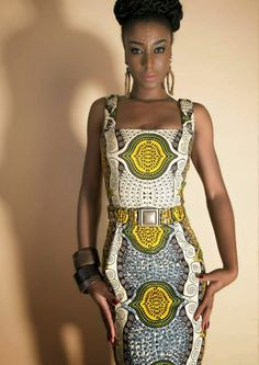 "Nothing But the Wax: LENA HOSCHEK - ""HOT MAMA""  ~Latest African fashion, Ankara, kitenge, African women dresses, African prints, African men's fashion, Nigerian style, Ghanaian fashion ~DKK"