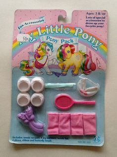 Hey, I found this really awesome Etsy listing at https://www.etsy.com/listing/487353112/my-little-pony-g1-htf-moc-pony-wear-pack