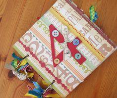 Birthday mini Album Mini scrapbook album Scrapbook by shereenaftab