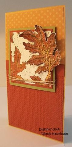 Fall Card by Stampinfool72 - Cards and Paper Crafts at Splitcoaststampers