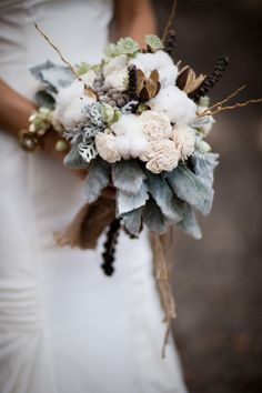 Cotton bouquet love the dusty miller cascading! _LQ 2019 Cotton bouquet love the dusty miller cascading! _LQ The post Cotton bouquet love the dusty miller cascading! _LQ 2019 appeared first on Cotton Diy. Winter Bridal Bouquets, Winter Bouquet, Winter Wedding Flowers, White Wedding Bouquets, Wedding Flower Arrangements, Flower Bouquet Wedding, Winter Weddings, Wedding Dresses, Flower Bouquets