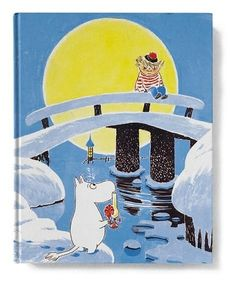 Moomin and his friend Too-Ticky (Trois Pommes in French). A very nice illustration! Moomin Books, Moomin Shop, Moomin Valley, Tove Jansson, Georges Braque, Children's Book Illustration, The Crow, Fairy Tales, Childhood