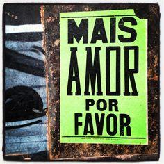 Mais Amor, por Favor