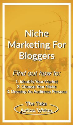 One of the best ways to earn a real income with blogging is through niche marketing. It's what I've been doing for years - and I've learned a lot about things y